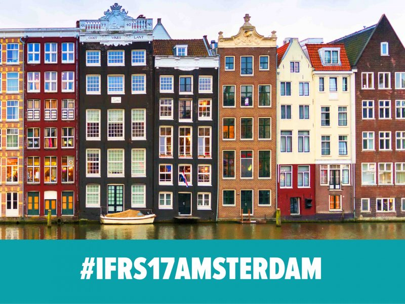 We visit #IFRS17AMSTERDAM on 26 & 27 June